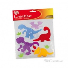 Sticker Gel Dinosaurio