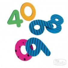 Números Diseño Goma Eva