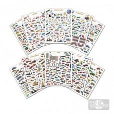 Block Stickers Medios de...