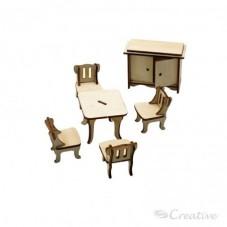 Mueble Miniatura Armable...