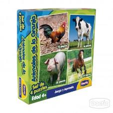 Puzzles Animales de la Granja